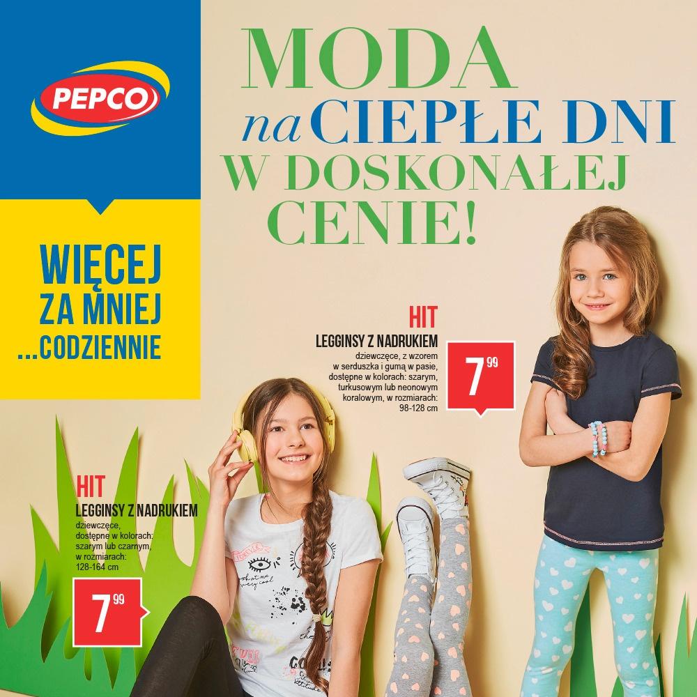 PROMOCJE W PEPCO - GAZETKA 27.04 – 10.05
