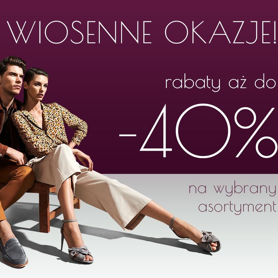 DO -40% W SALONIE WOJAS