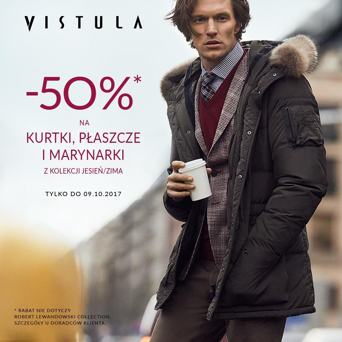 VISTULA -50% RABATU