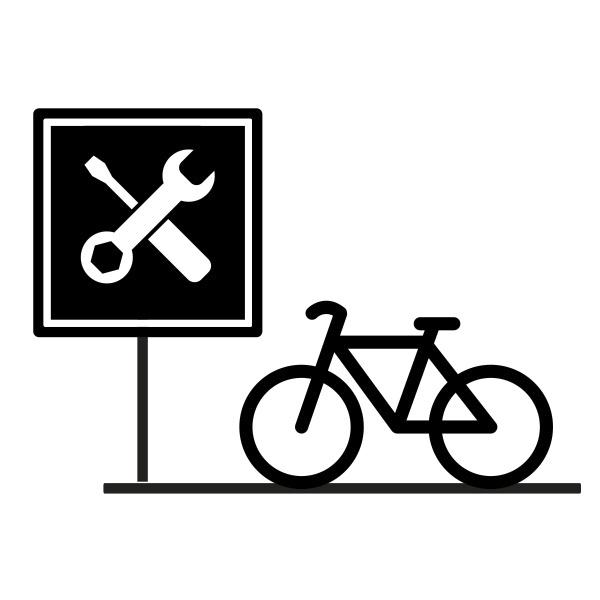Stacja naprawcza dla rowerów