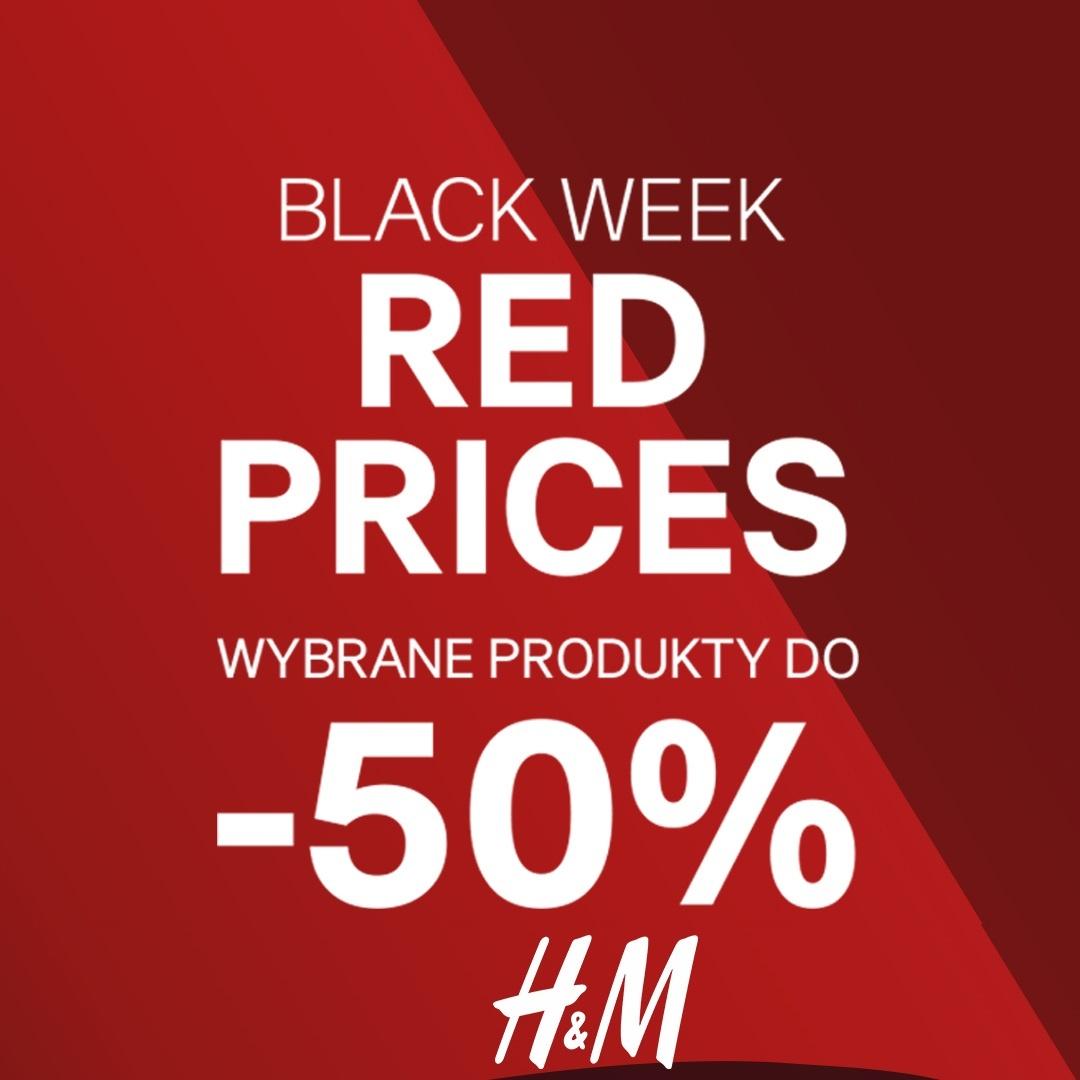 W H&M BLACK WEEK – RED PRICES