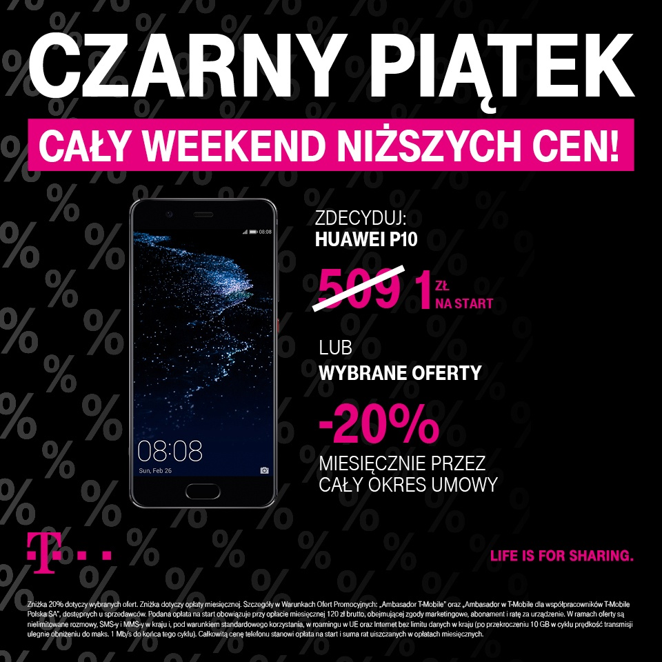 BLACK WEEKEND W T-MOBILE