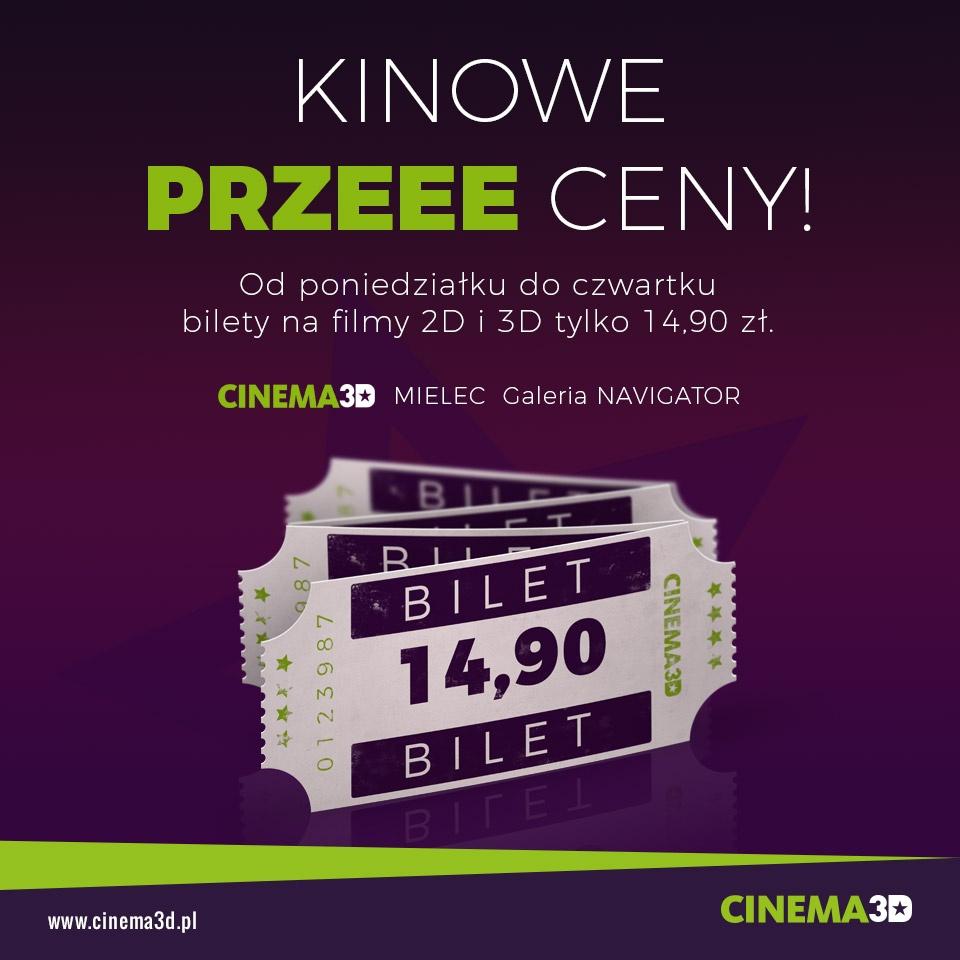 KINOWE PRZECENY W CINEMA 3D