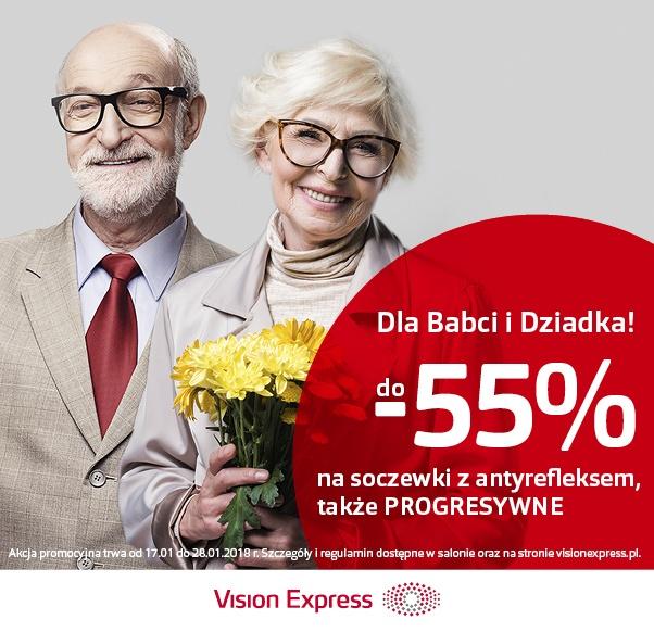 DO -55% DLA BABCI I DZIADKA W VISION EXPRESS