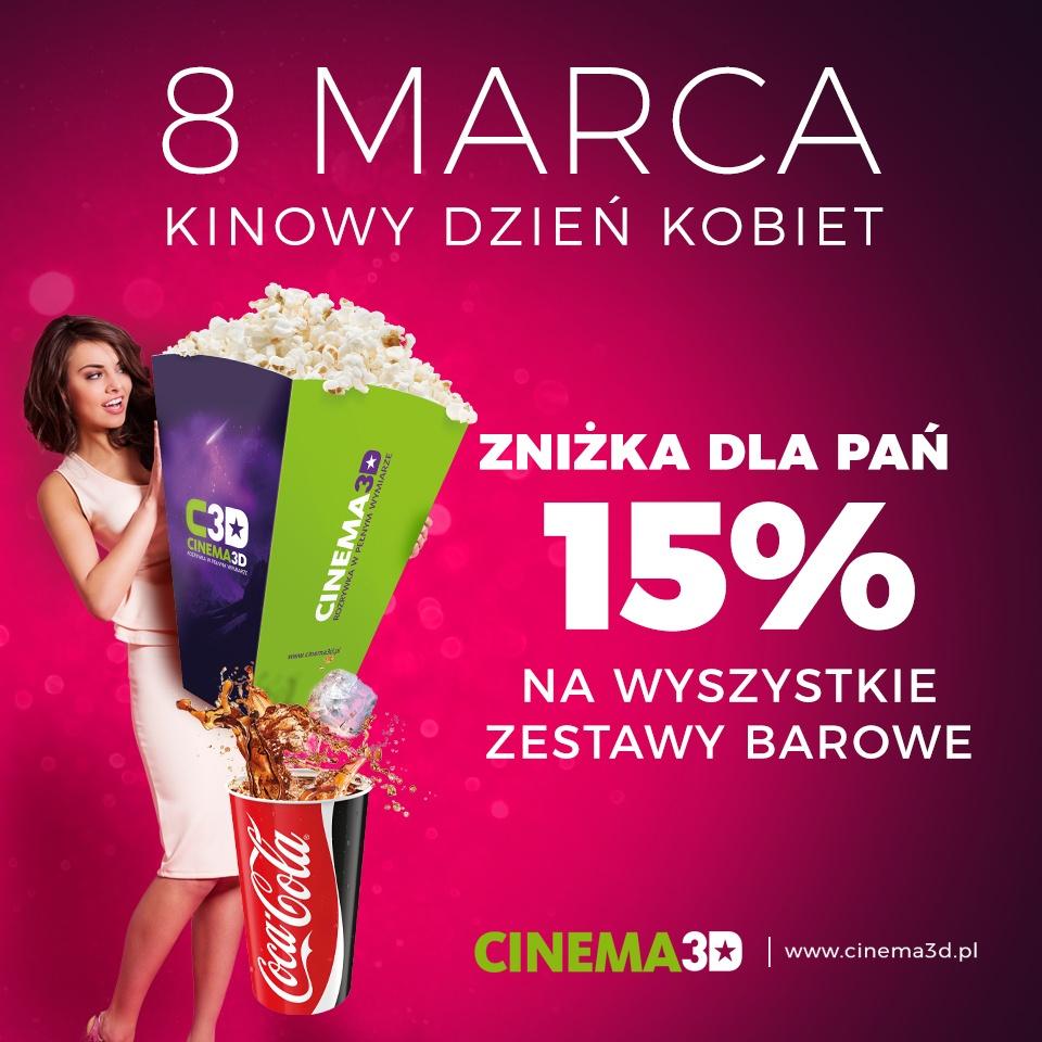 DZIEŃ KOBIET W CINEMA 3D