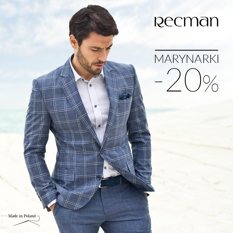-20% NA MARYNARKI W RECMAN