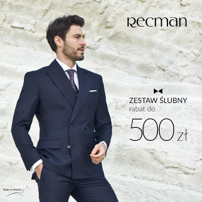 RABAT DO 500 ZŁ W SALONIE RECMAN