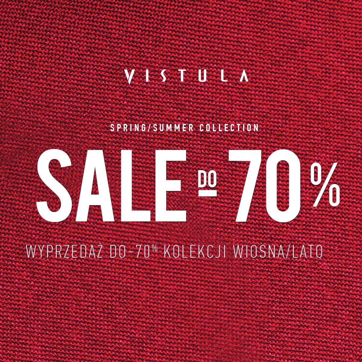 DO -70% W VISTULI