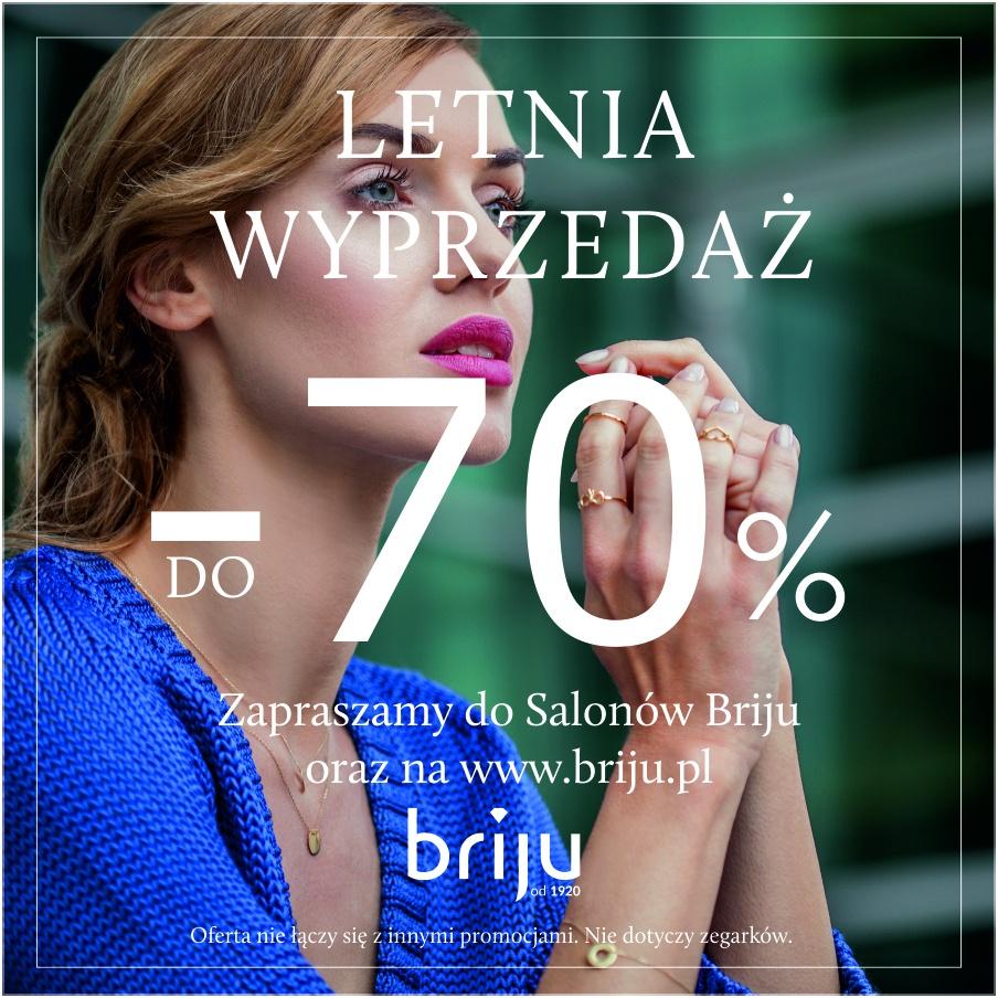 LETNIA WYPRZEDAŻ DO -70%!