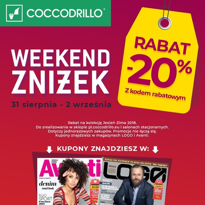 Weekend zniżek z Avanti i Logo.