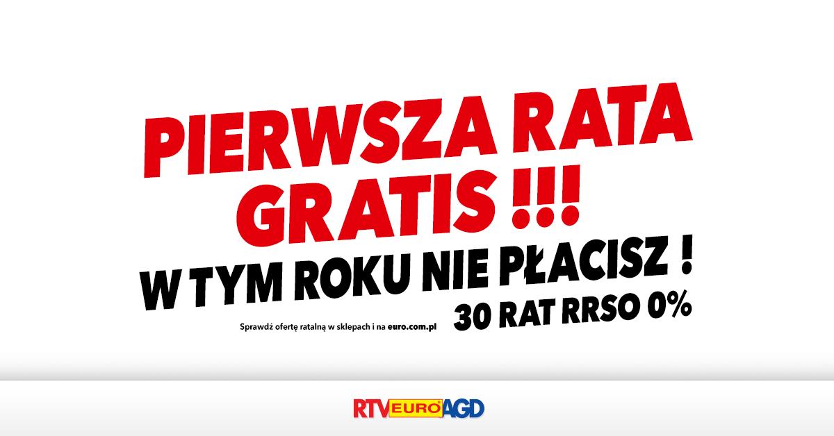 PIERWSZA RATA GRATIS !!! W TYM ROKU NIE PŁACISZ !