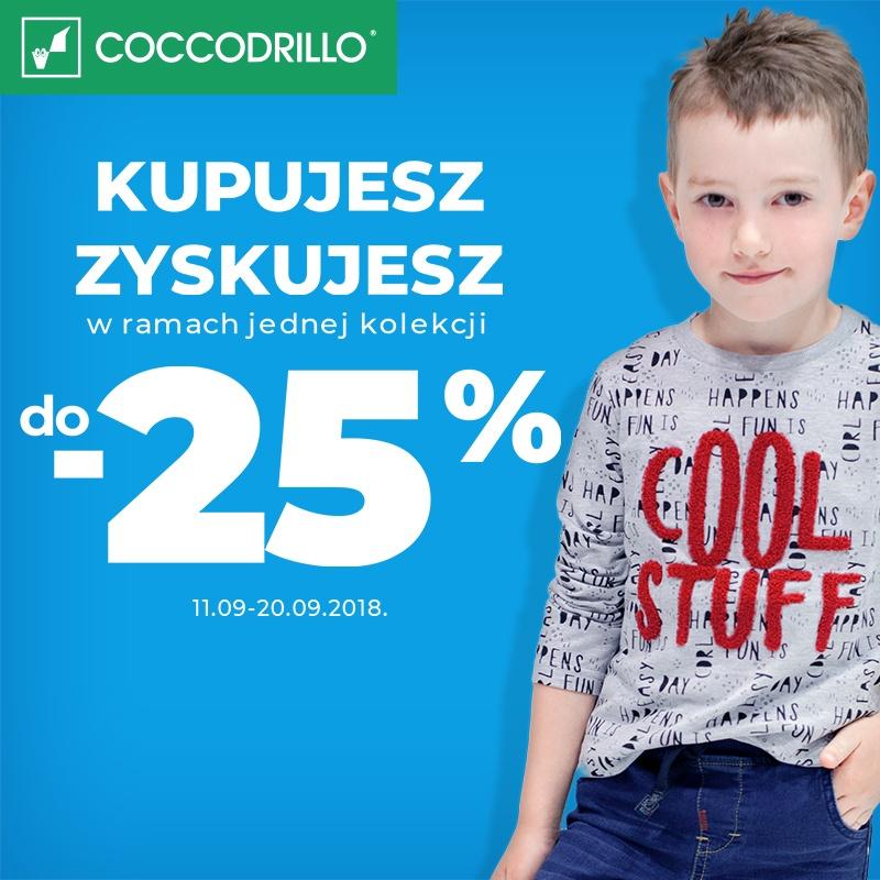 Kupujesz - Zyskujesz w ramach jednej kolekcji do -25%