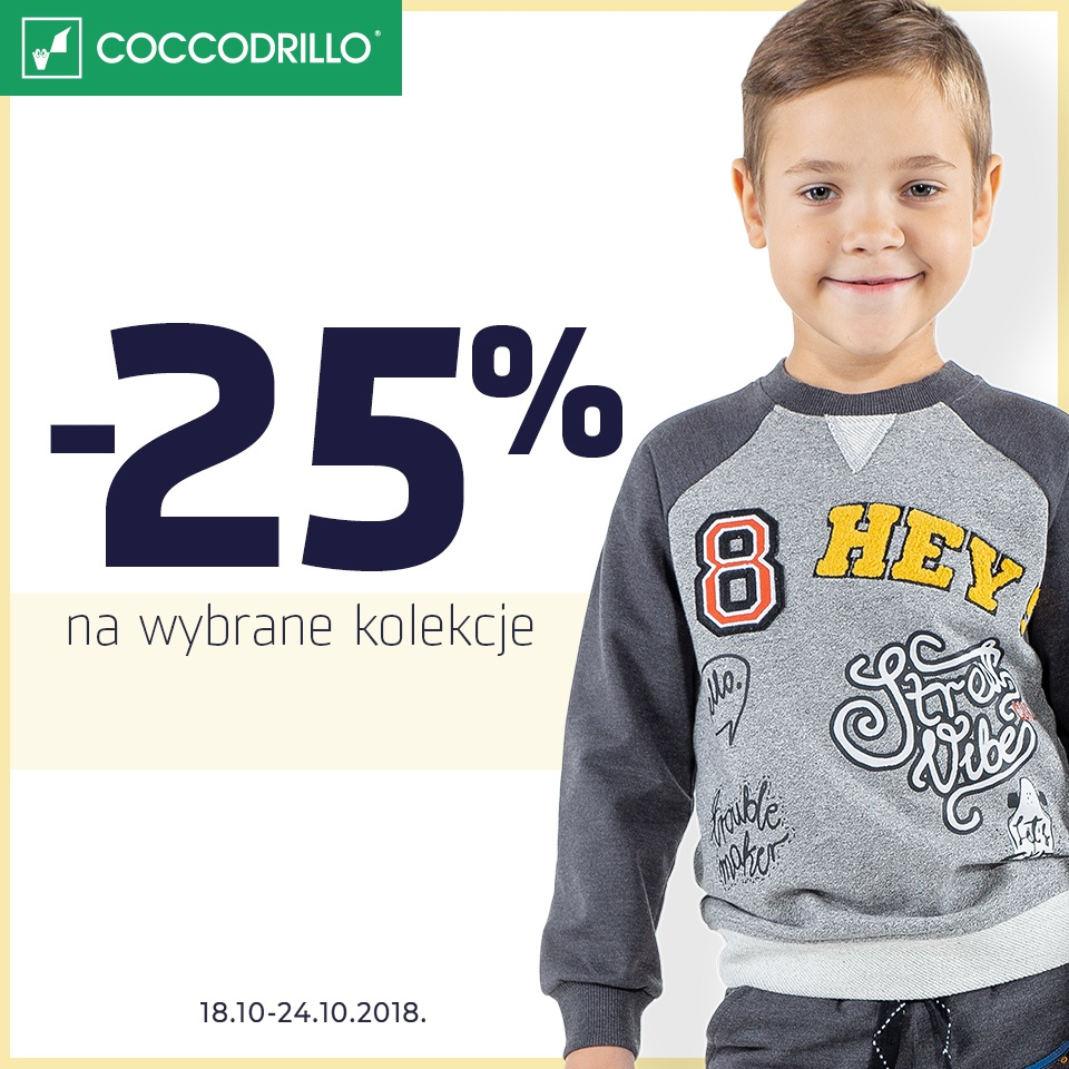 -25 % na wybrane kolekcje