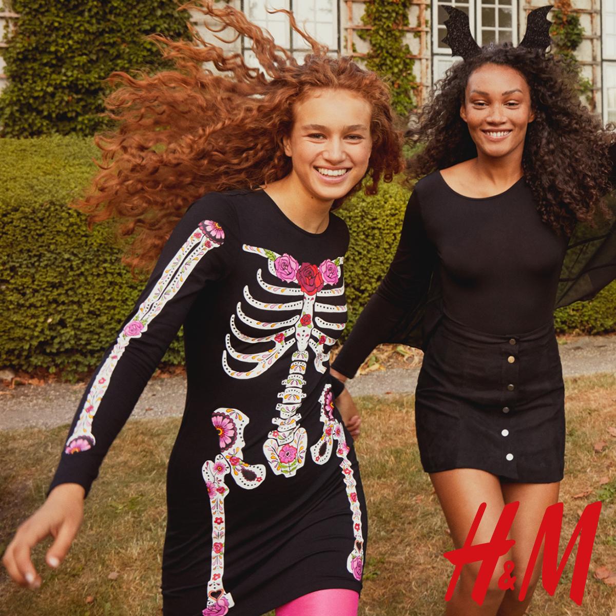 Upiorna i urocza kolekcja na Halloween od H&M