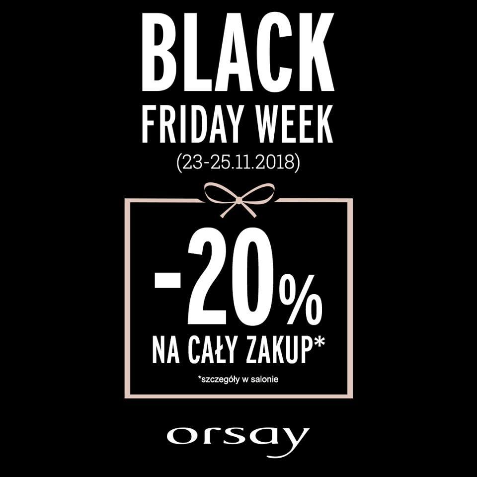 Black Friday week w salonie ORSAY