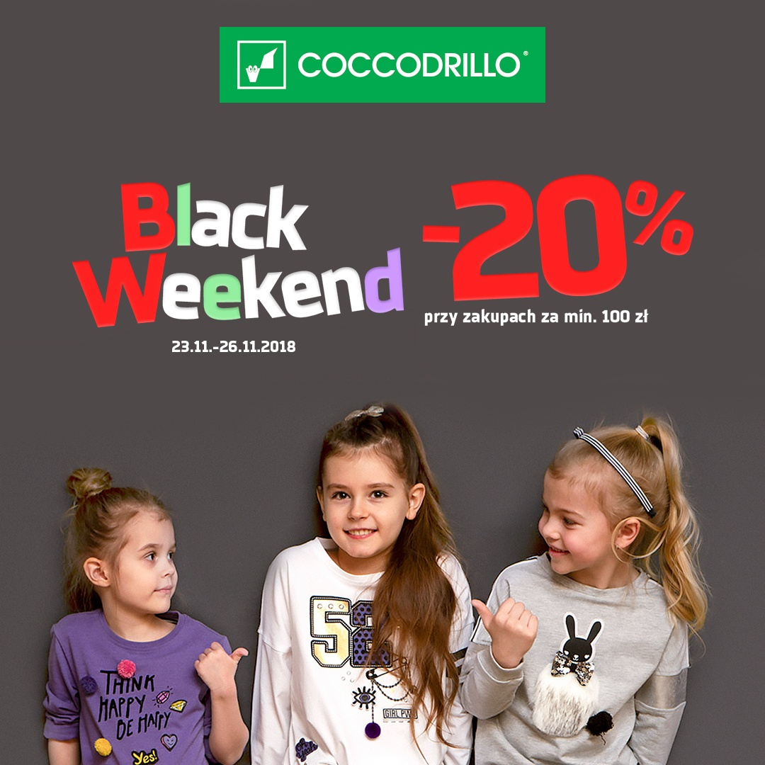 Black Weekend z Coccodrillo!