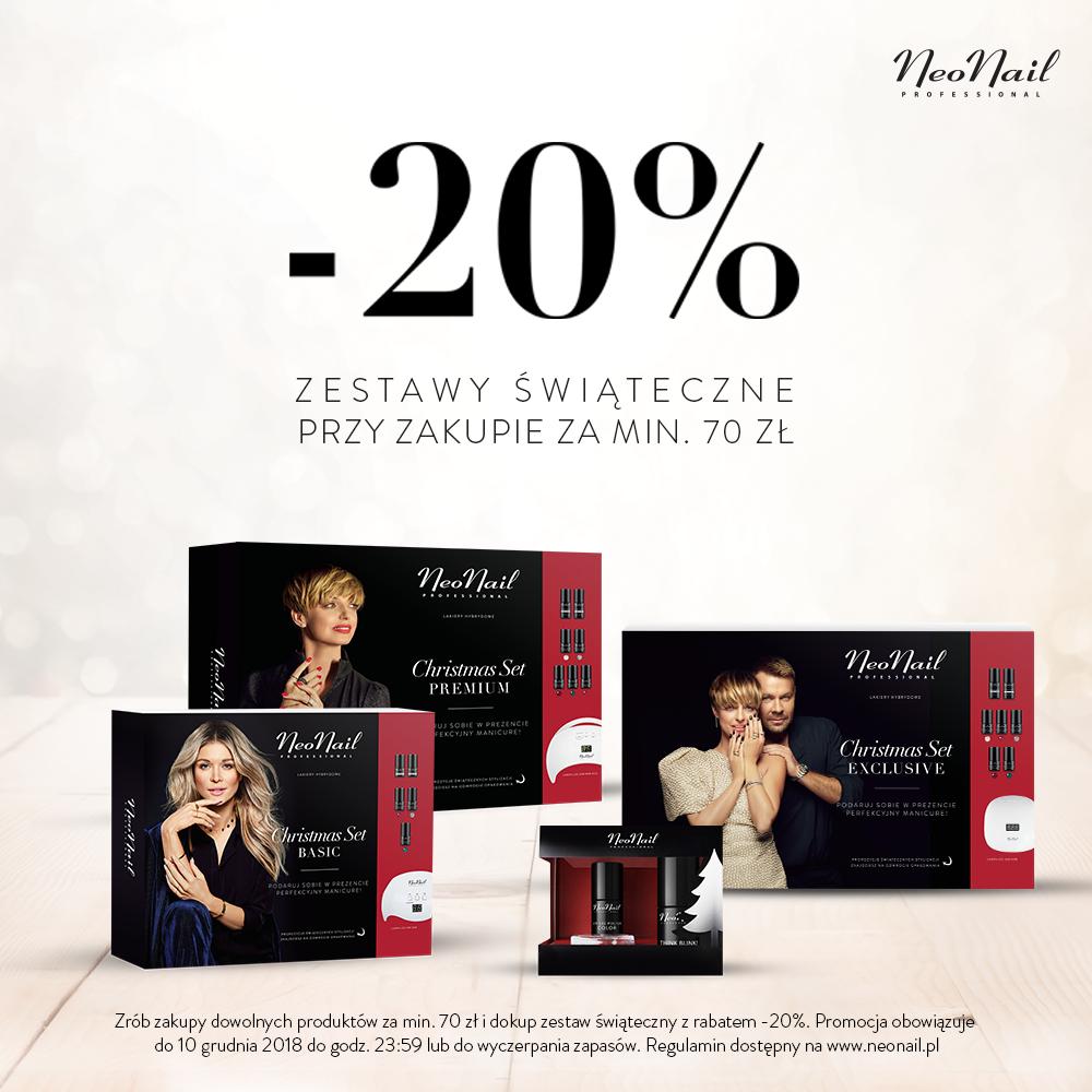 Idealne prezenty od NeoNail 20% taniej