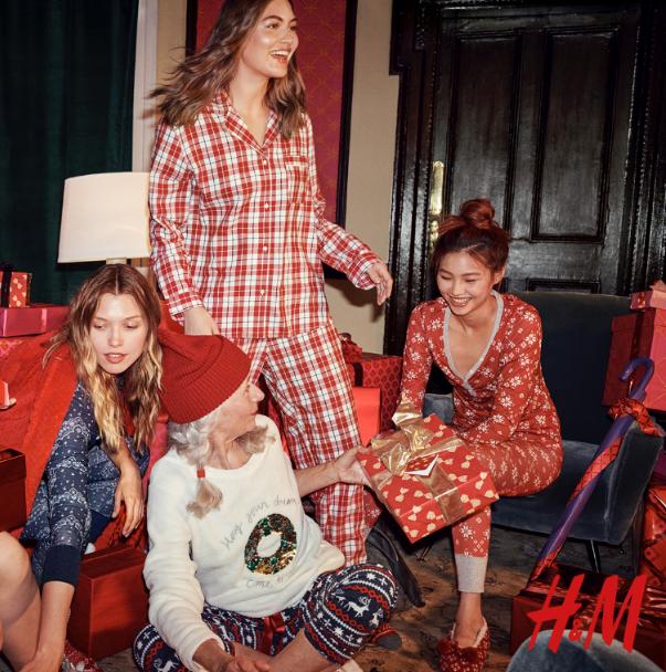 Miękkie pidżamy na Święta
