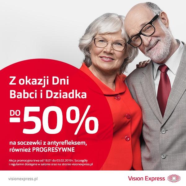 Z okazji Dnia Babci i Dziadka do -50%