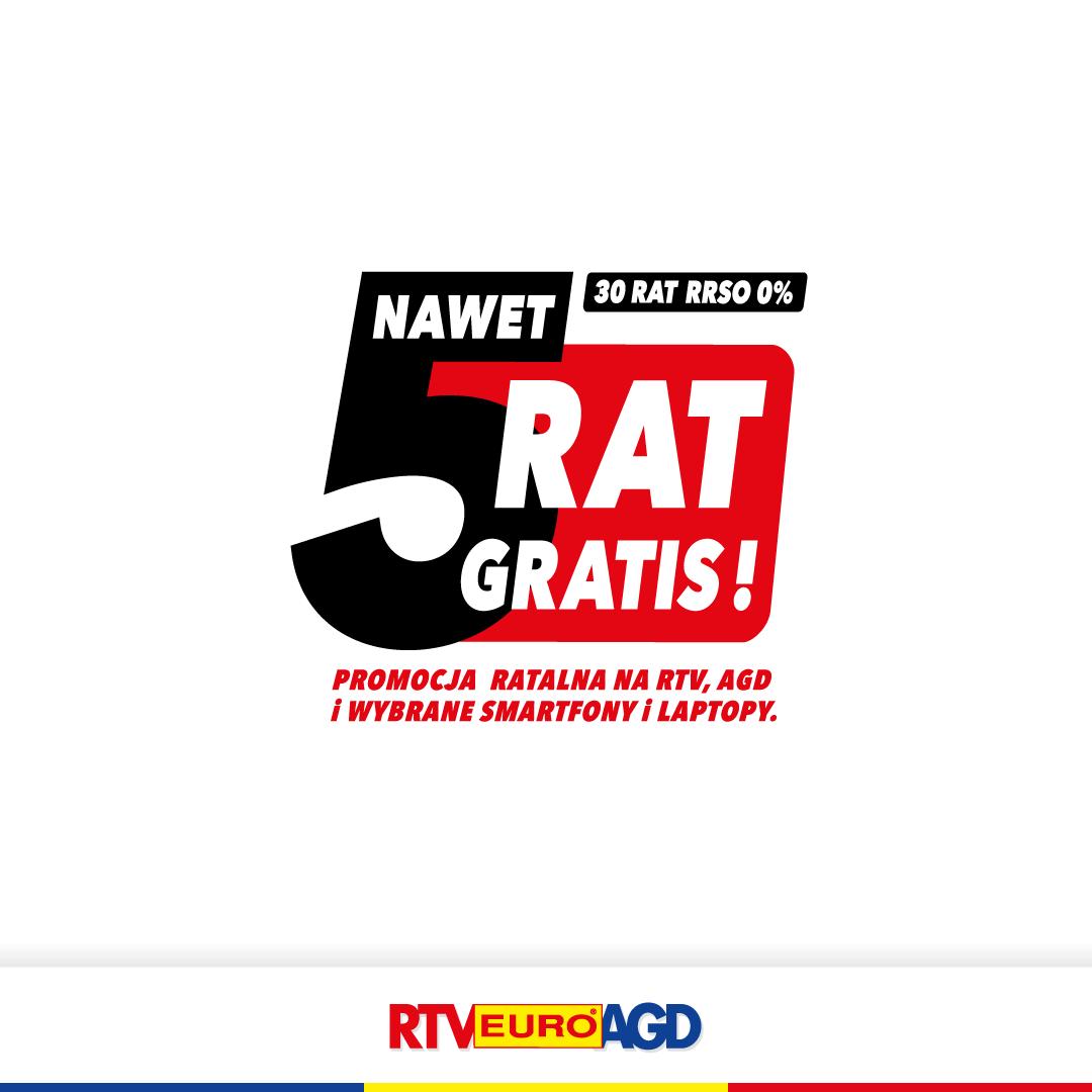 Nawet 5 rat gratis!