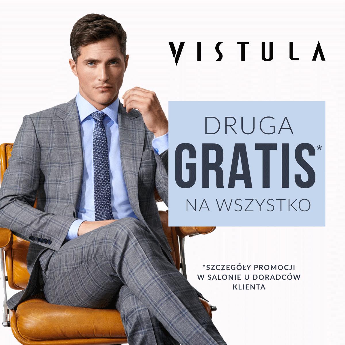 Druga sztuka gratis w salonie Vistula!