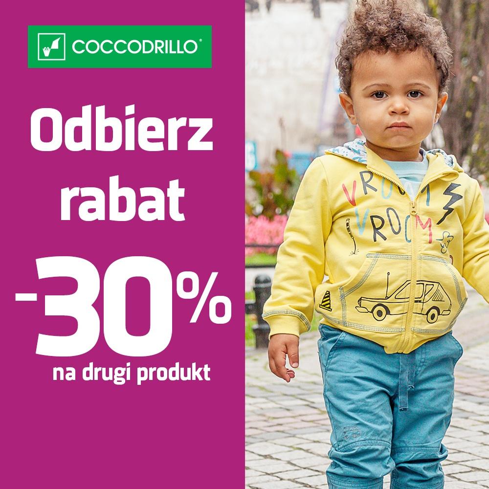 Odbierz rabat 30% na drugi produkt!