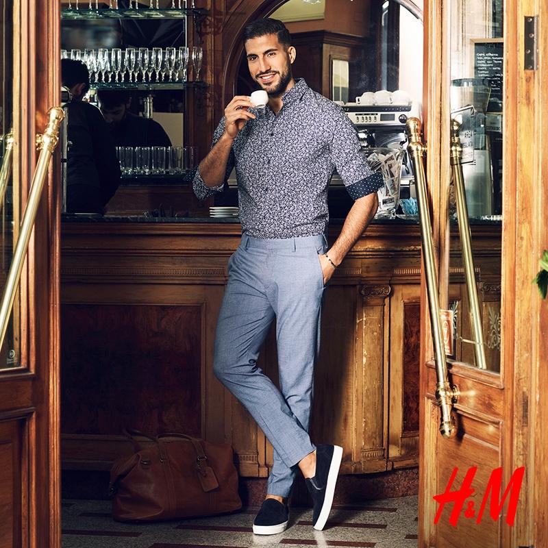 Emre Can w nowej kolekcji H&M!