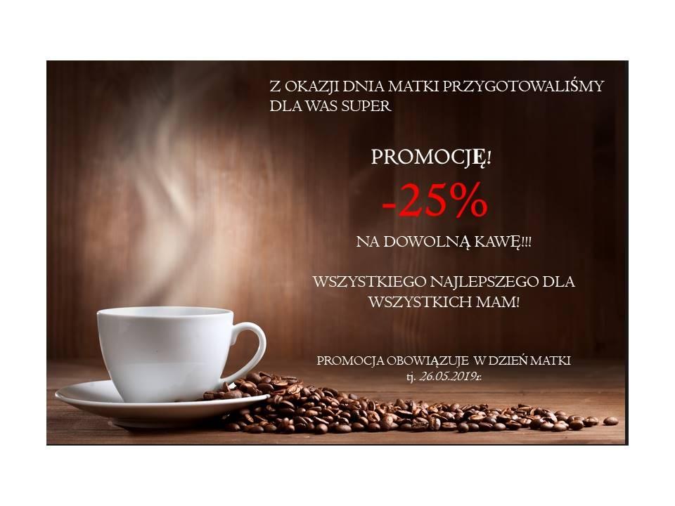 -25% na dowolną Kawę!!