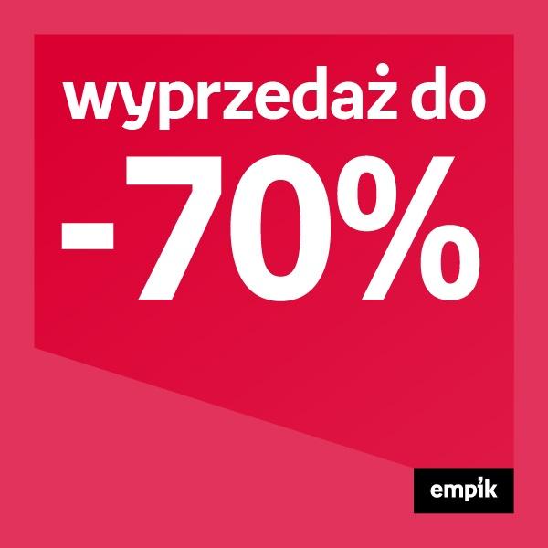 Wyprzedaż do 70%