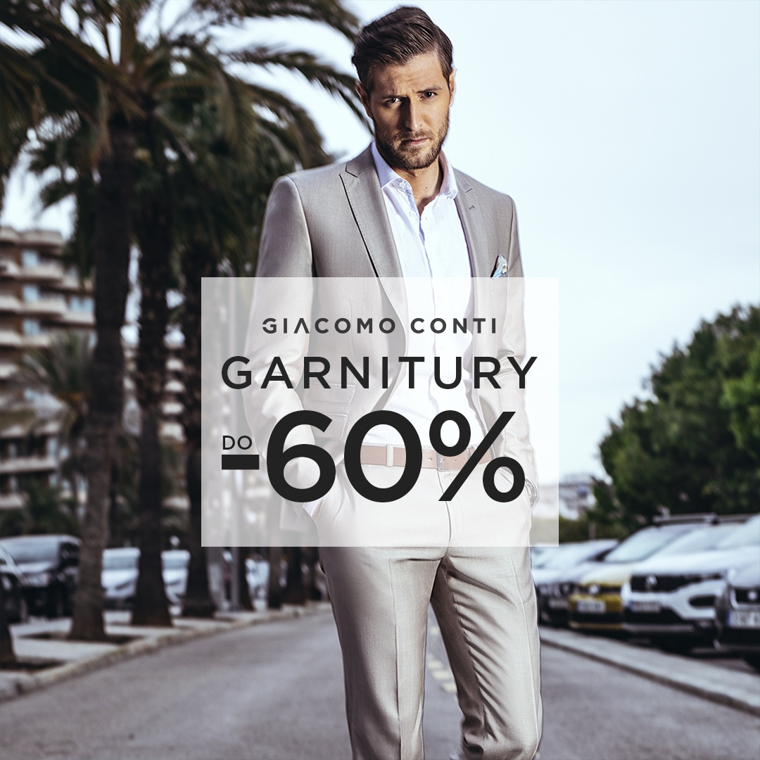 Garnitury do -60%