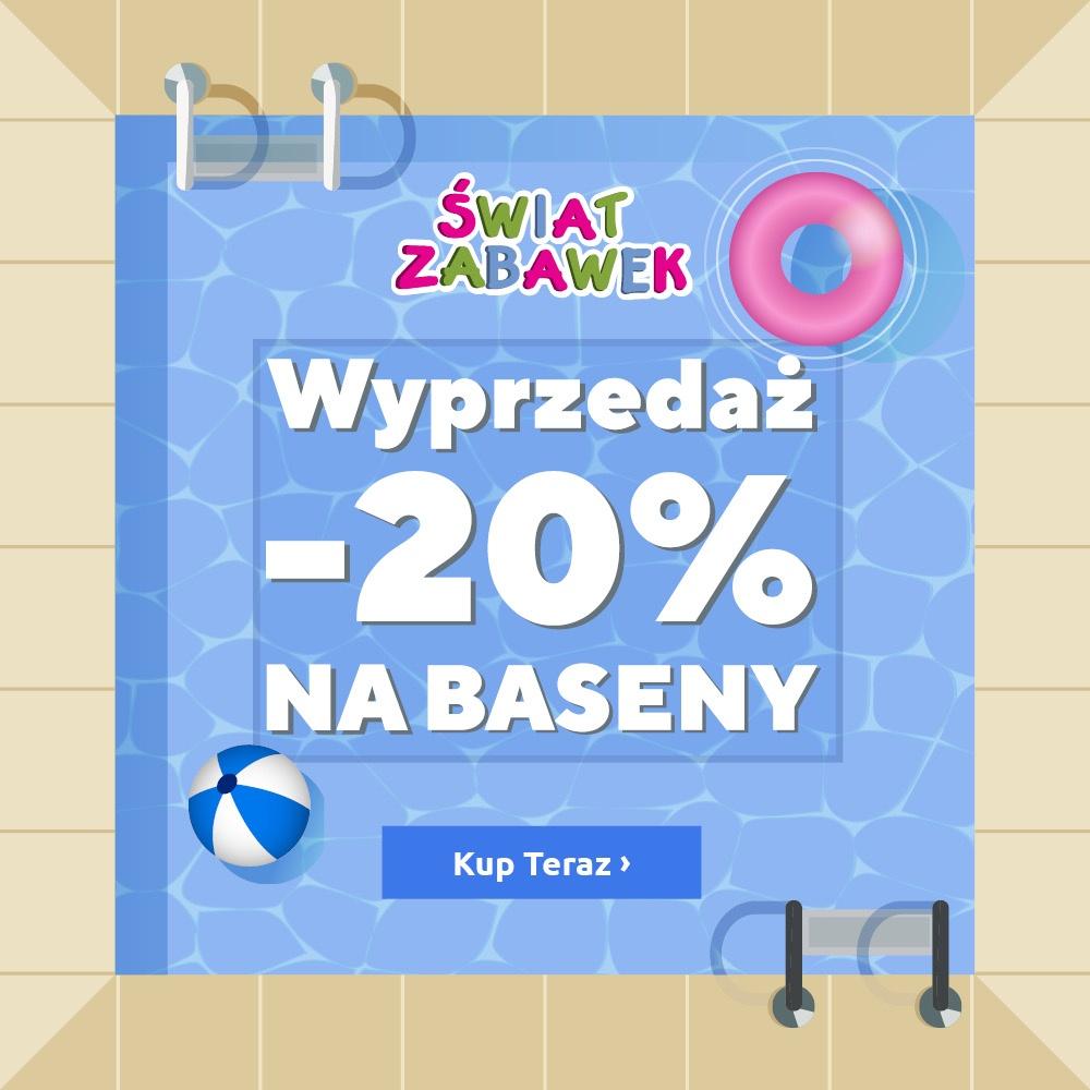 Wyprzedaż -20% na baseny!