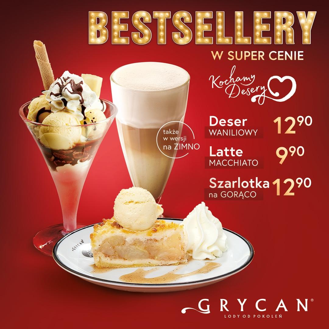 Bestsellery w super cenie u Grycana!