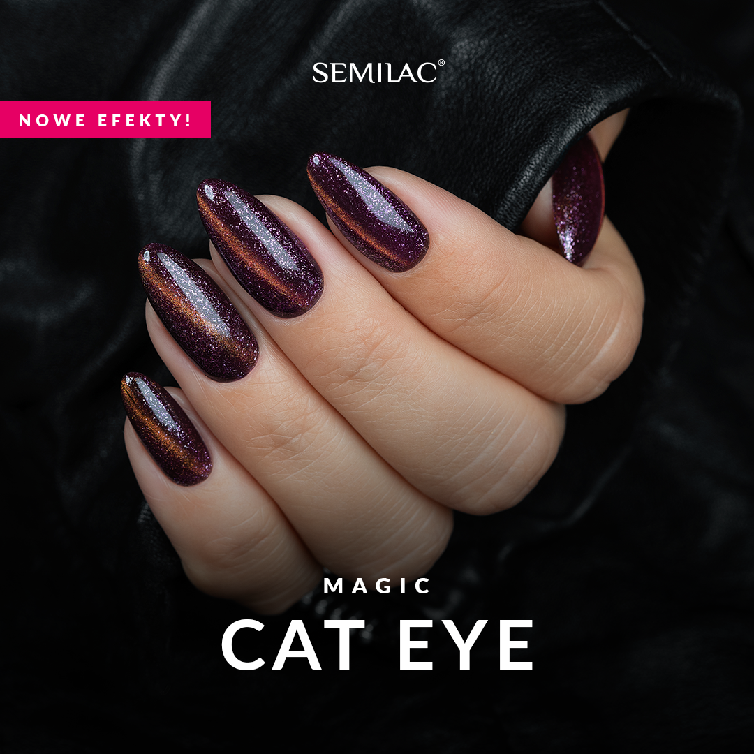 Nowa kolekcja Semilac Magic Cat Eye!