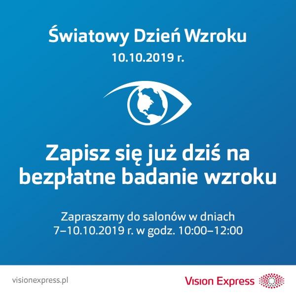 Zapisz się już dziś na bezpłatne badanie wzroku!