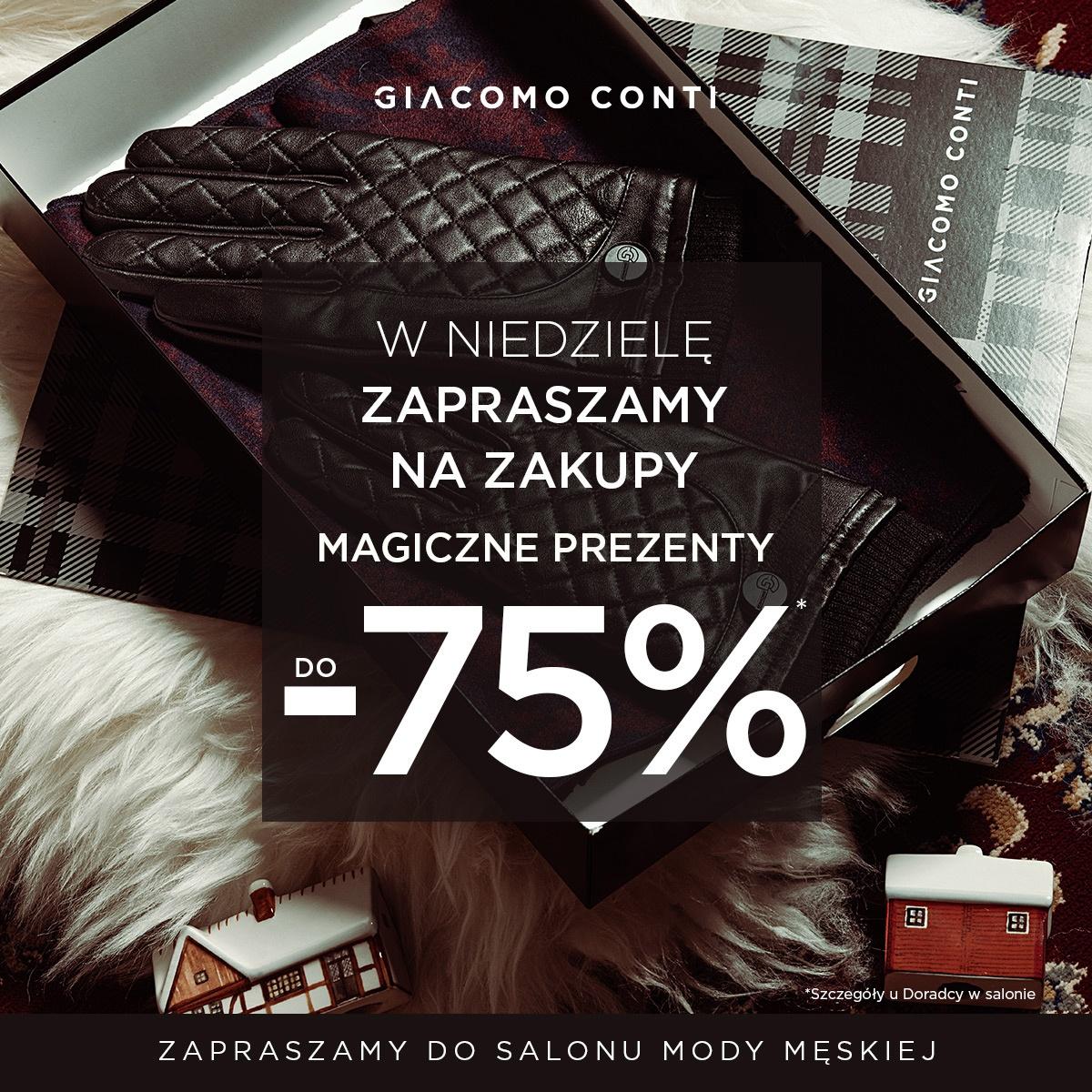Magiczne prezenty do -75% taniej!