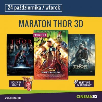 CINEMA 3D ZAPRASZA NA MARATON Z FILMEM THOR3D