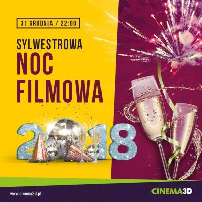 SYLWESTROWA NOC FILMOWA W CINEMA 3D