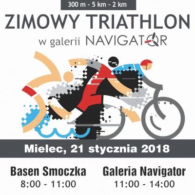ZIMOWY TRIATHLON W GALERII NAVIGATOR