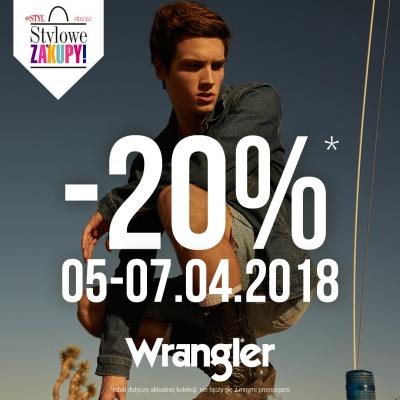 STYLOWE ZAKUPY W LEE WRANGLER - 20%