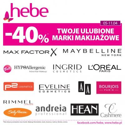 ULUBIONE MARKI W HEBE -40%
