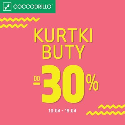 -30% NA KURTKI I BUTY W COCCODRILLO