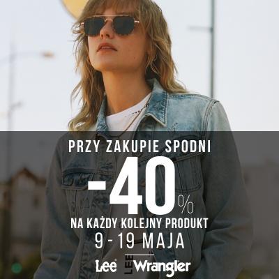 PROMOCJE W LEE WRANGLER!