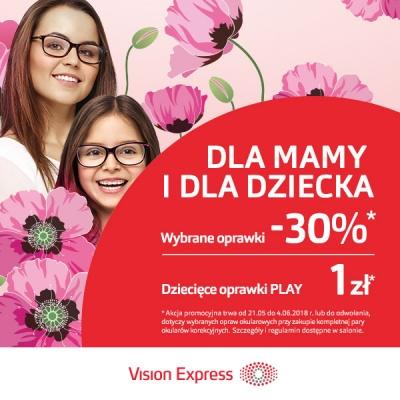 RABAT 30% W VISION EXPRESS