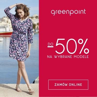 -50% NA WYBRANE MODELE W GREENPOINT!