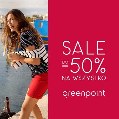 SALE do - 50% na wszystko w Greenpoint