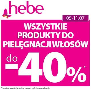 Wszystkie Produkty do Pielęgnacji Włosów do -40%