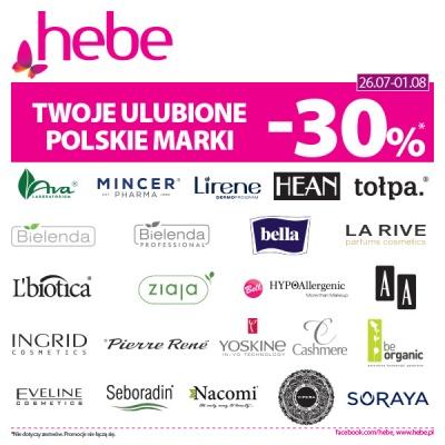 Twoje Ulubione Polskie Marki – 30%