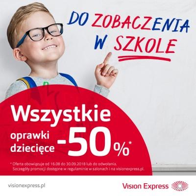 Vision Express dba o oczy Twojego dziecka.