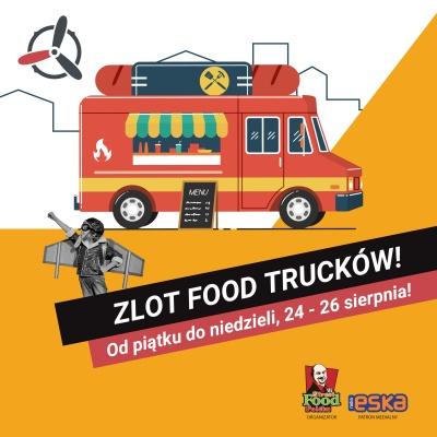 Zlot Food Trucków na parkingu Galerii Navigator od piątku do niedzieli, 24 - 26 sierpnia!