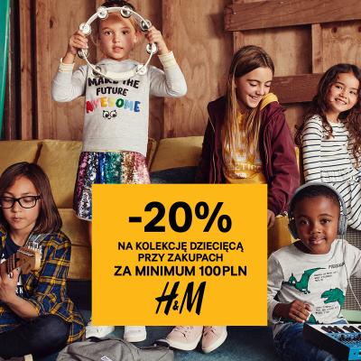 -20% na zakupy na dziale dziecięcym!